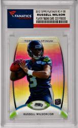 Russell Wilson Seattle Seahawks 2012 Topps Platinum Rookie #138 Card