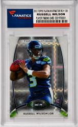 Russell Wilson Seattle Seahawks 2012 Topps Platinum Xfractor Rookie #138 Card