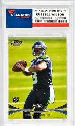Russell Wilson Seattle Seahawks 2012 Topps Prime Rookie #78 Card