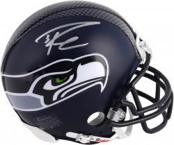 Russell Wilson Seattle Seahawks Autographed Riddell Mini Helmet