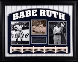 Babe Ruth New York Yankees Framed Autographed 8'' x 10'' Photograph