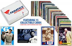 Babe Ruth New York Yankees Collectible Lot of 15 MLB Trading Cards - Mounted Memories