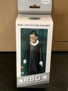 Ruth Bader Ginsburg RBG Real Life Action Figure Doll Collectible New In Box