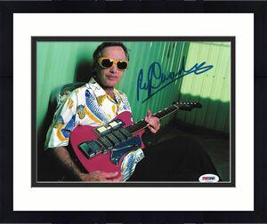 Ry Cooder Rolling Stones Morrison Guitar Signed Auto 8x10 Photo PSA/DNA COA (A)