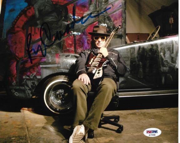 Ry Cooder Rolling Stones Morrison Guitar Signed Auto 8x10 Photo PSA/DNA COA (B)