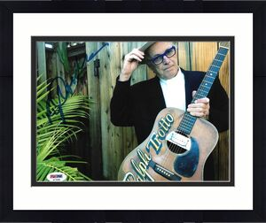 Ry Cooder Rolling Stones Morrison Guitar Signed Auto 8x10 Photo PSA/DNA COA (C)