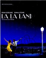 Ryan Gosling and Emma Stone Signed - Autographed LA LA LAND 8x10 Photo