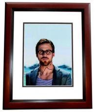 Ryan Gosling Signed - Autographed The Notebook - La La Land Actor 8x10 Photo MAHOGANY CUSTOM FRAME
