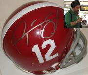 Ryan Hurst Gerry Bertier Hand Signed   Autographed Remember The Titans Mini Football Helmet