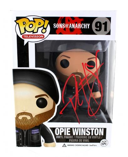 "Ryan Hurst ""Opie Winston"" Signed Sons of Anarchy Opie Winston Funko Pop #91 Action Figure"