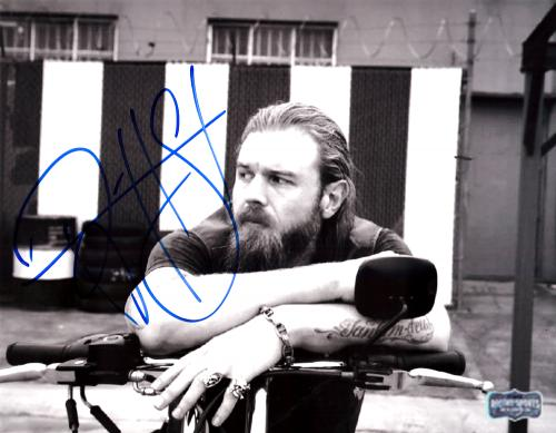 Ryan Hurst Signed Sons Of Anarchy 8x10 Photo - Sitting On Bike