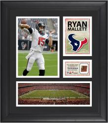 Ryan Mallett Houston Texans Framed 15'' x 17'' Collage with Game-Used Football