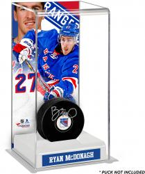 Ryan McDonagh New York Rangers Deluxe Tall Hockey Puck Case