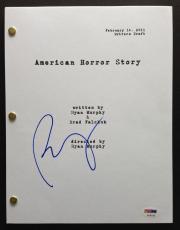 Ryan Murphy Signed Full 60 Page American Horror Story Pilot Script Psa Dna Coa