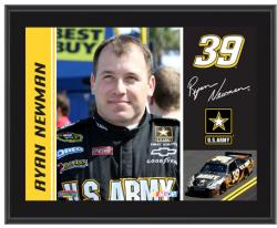 Ryan Newman 10.5'' x 13'' Sublimated Plaque - Mounted Memories