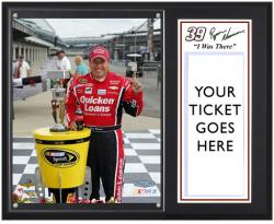 "Ryan Newman 2013 Brickyard 400 Race Winner Sublimated 12"" x 15"" I Was There Plaque - Mounted Memories"