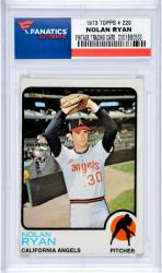Nolan Ryan Los Angeles Angels of Anaheim 1973 Topps #220 Card 2