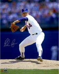 Nolan Ryan Autographed Rangers 16x20 Photo