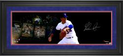 Nolan Ryan Texas Rangers Framed Autographed 10'' x 30'' Film Strip Photograph - Mounted Memories