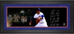 Nolan Ryan Texas Rangers Framed Autographed 10'' x 30'' Film Strip Photograph with Multiple Inscriptions-#2-23 Limited Edition of 24 - Mounted Memories