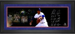 "Nolan Ryan Texas Rangers Framed Autographed 10"" x 30"" Film Strip Photograph with Multiple Inscriptions-#24 Limited Edition of 24"