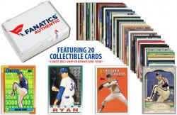 Nolan Ryan Texas Rangers Collectible Lot of 20 MLB Trading Cards - Mounted Memories