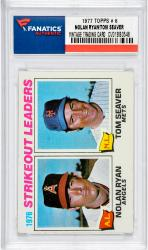 Nolan Ryan Los Angeles Angels of Anaheim & Tom Seaver New York Mets 1977 Topps #6 Card 1