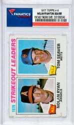 Nolan Ryan Los Angeles Angels of Anaheim & Tom Seaver New York Mets 1977 Topps #6 Card 2