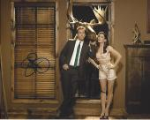 """RYAN REYNOLDS as ANDREW and SANDRA BULLOCK as MARGARET in the 2009 Movie """"THE PROPOSAL"""" Signed by Both 10x8 Color Photo"""