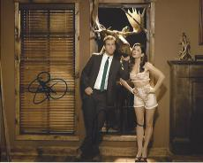 "RYAN REYNOLDS as ANDREW and SANDRA BULLOCK as MARGARET in the 2009 Movie ""THE PROPOSAL"" Signed by Both 10x8 Color Photo"