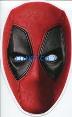 Ryan Reynolds Deadpool Japanese Japan Rare Press Original Large Postcard Mask