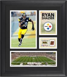 Ryan Shazier Pittsburgh Steelers Framed 15'' x 17'' Collage with Game-Used Football