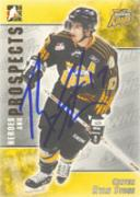 Ryan Stone Brandon Wheat Kings - WHL 2005 In The Game Heroes and Prospects Autographed Card.  This item comes with a certificate of authenticity from Autograph-Sports. Autographed