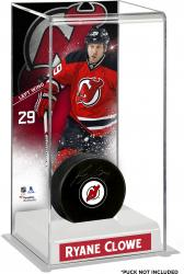 Ryane Clowe New Jersey Devils Deluxe Tall Hockey Puck Case