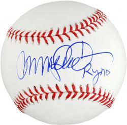 Ryne Sandberg Autographed Baseball with Ryno Inscription