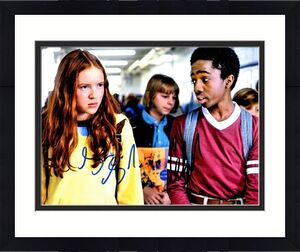Sadie Sink and Caleb McLaughlin Signed - Autographed Stranger Things 8x10 inch Photo - Max and Lucas - Guaranteed to pass BAS