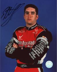 Elliott Sadler Autographed 8'' x 10'' Motorcraft Arms Crossed Photograph