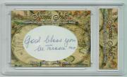 Saint Mother Teresa 2018 World Leaders Iconic Ink Signed Cut Auto 1/1 Card JSA
