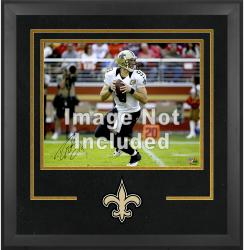 New Orleans Saints Deluxe 16'' x 20'' Horizontal Photograph Frame with Team Logo - Mounted Memories