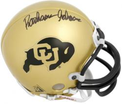 Rashaan Salaam Colorado Buffaloes Autographed Mini Helmet - Mounted Memories