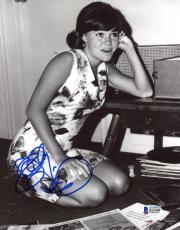 "Sally Field Autographed 8"" x 10"" As A Child Photograph - Beckett COA"