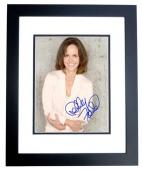 Sally Field Signed - Autographed 8x10 inch Photo BLACK CUSTOM FRAME - Guaranteed to pass PSA or JSA