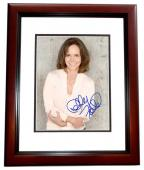 Sally Field Signed - Autographed 8x10 inch Photo MAHOGANY CUSTOM FRAME - Guaranteed to pass PSA or JSA