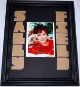 SALLY FIELD Autographed CUSTOM MATTED RARE Photo Display    AFTAL