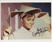SALLY FIELD HAND SIGNED 8x10 COLOR PHOTO     VERY RARE    THE FLYING NUN     JSA