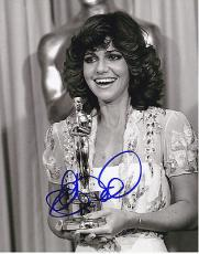 Sally Field signed Norma Rae 8x10 photo W/Coa Oscar Winner