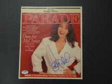 Sally Field Signed Parade Magazine Cover PSA/DNA Auto Autograph W30037