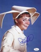 "Sally Field Signed 'the Flying Nun"" Sister Bertrille 8x10 Photo Jsa Coa"