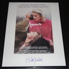 Sally Kirkland Signed Framed 16x20 Anna Photo Display JSA