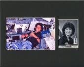 Sally Ride NASA Challenger Astronaut 1st US Women Space Rare Photo Card Display